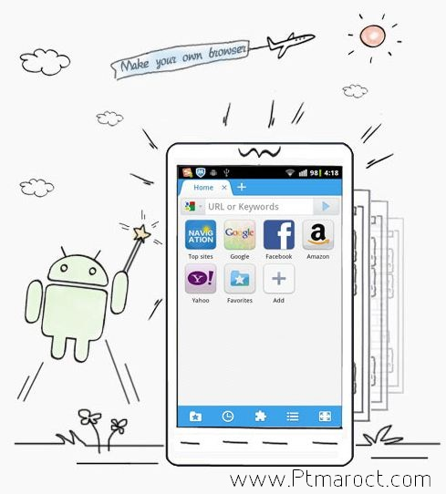 Make Android Web Browser