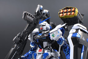 GUNDAM ASTRAY BLUE FRAME FULL WEAPONS