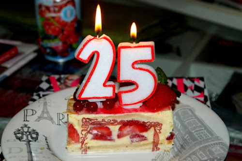 25th birthday ♥
