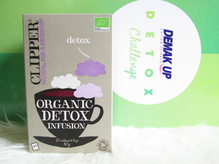 Demakup Detox Challenge - Organic Detox Infusion Tee / tea