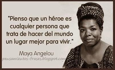 frases de Maya Angelou