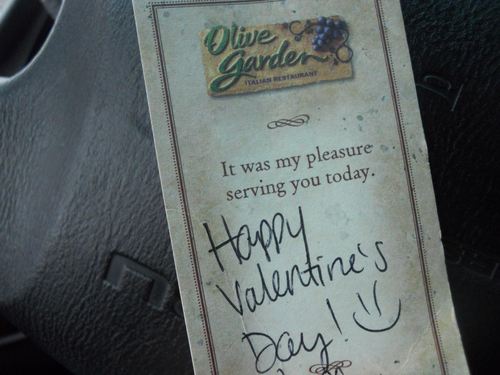 Tasty Trek Olive Garden