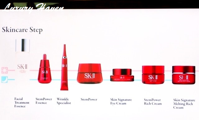 sk-ii stempower skincare steps