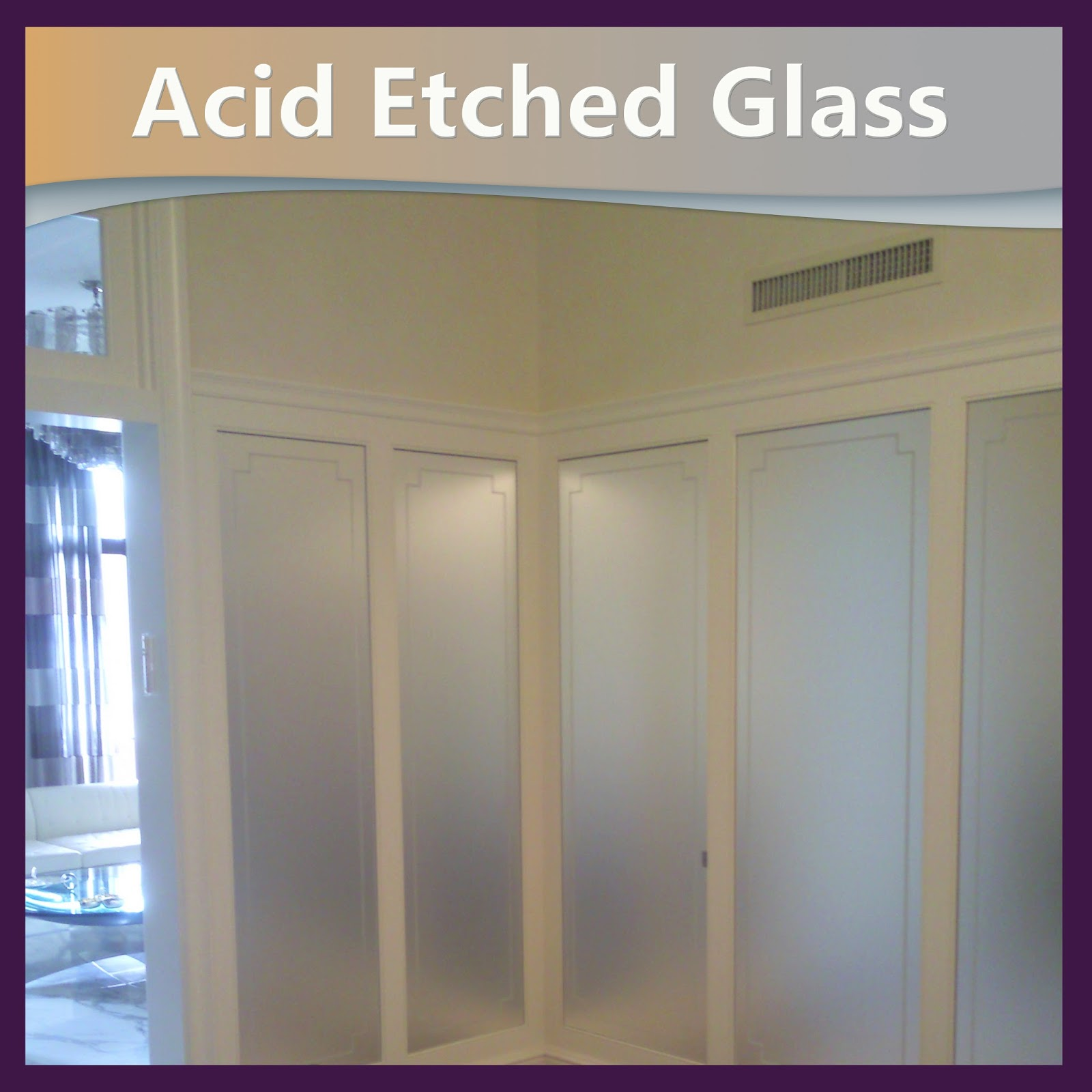 Acid Etched Glass Laminatedglassnyc