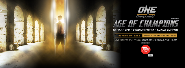 ONE FC Age of Champions KL 2015 teaser banner