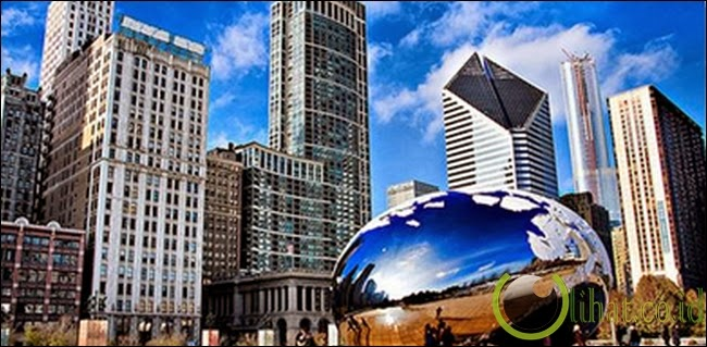 Gedung Komunikasi Kota Chicago, AS
