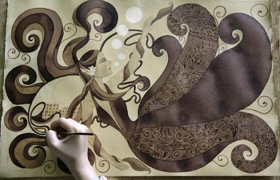 5 Pelukis Kopi yang Paling Terkenal di Dunia: Sunshine Plata