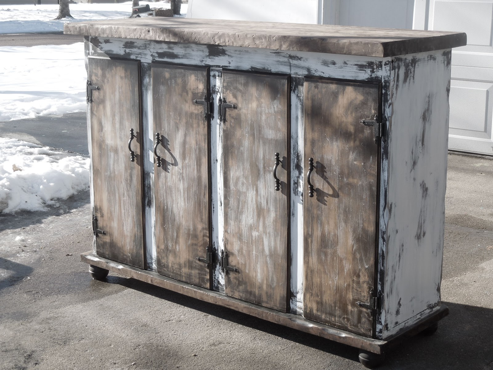 Tattered Lantern Entry Cabinettv Console Sold Can