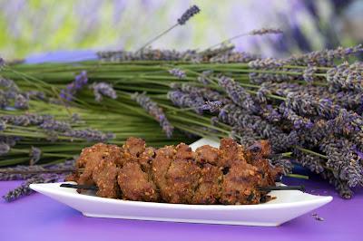 Lavender Lamb Shish Kabob Recipe