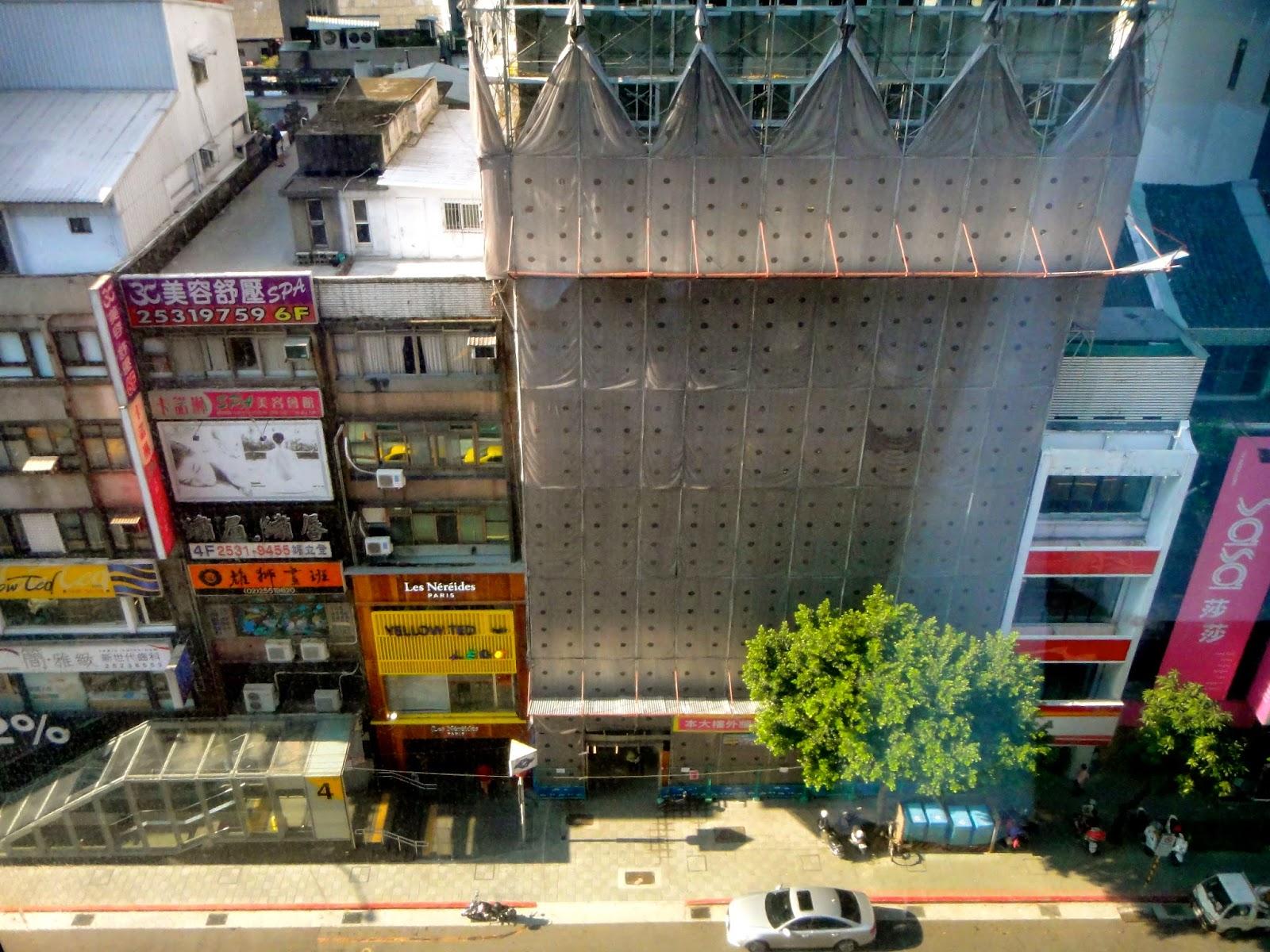 View from Shin Yeh Taipei at Zhongshan