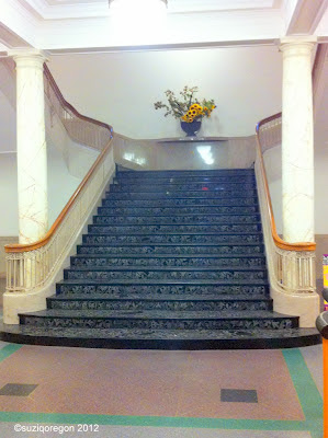 Multnomah County Library Central Branch Stairs