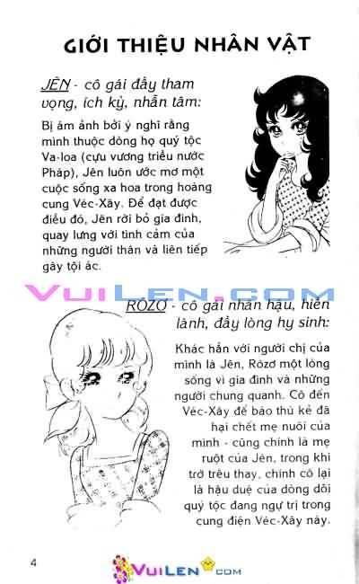 Hoa Hồng Véc-Xây Chapter 5 - Trang 3