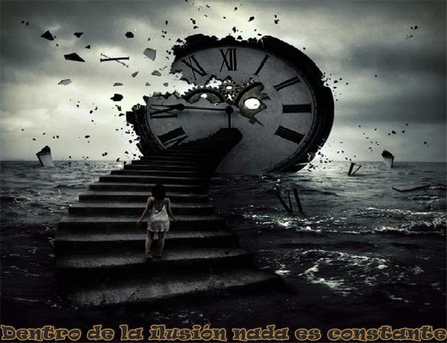 Dentro de la ilusión nada es constante, nada permanece igual, lo que es constante es el cambio y ese cambio constante es volátil y errático.