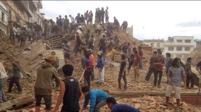 Gempa dahsyat melanda Nepal, ribuan orang tewas