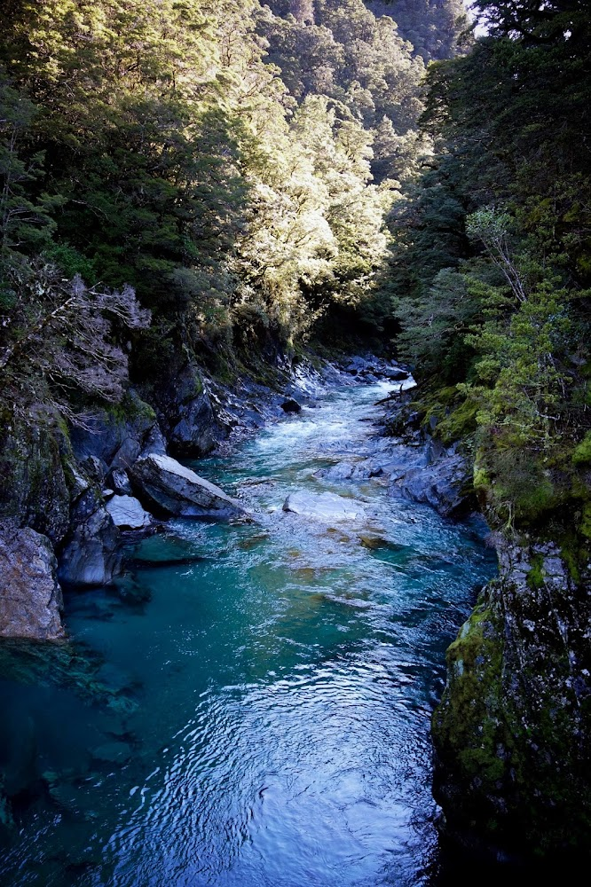 Blue Pool Track New Zealand Hike