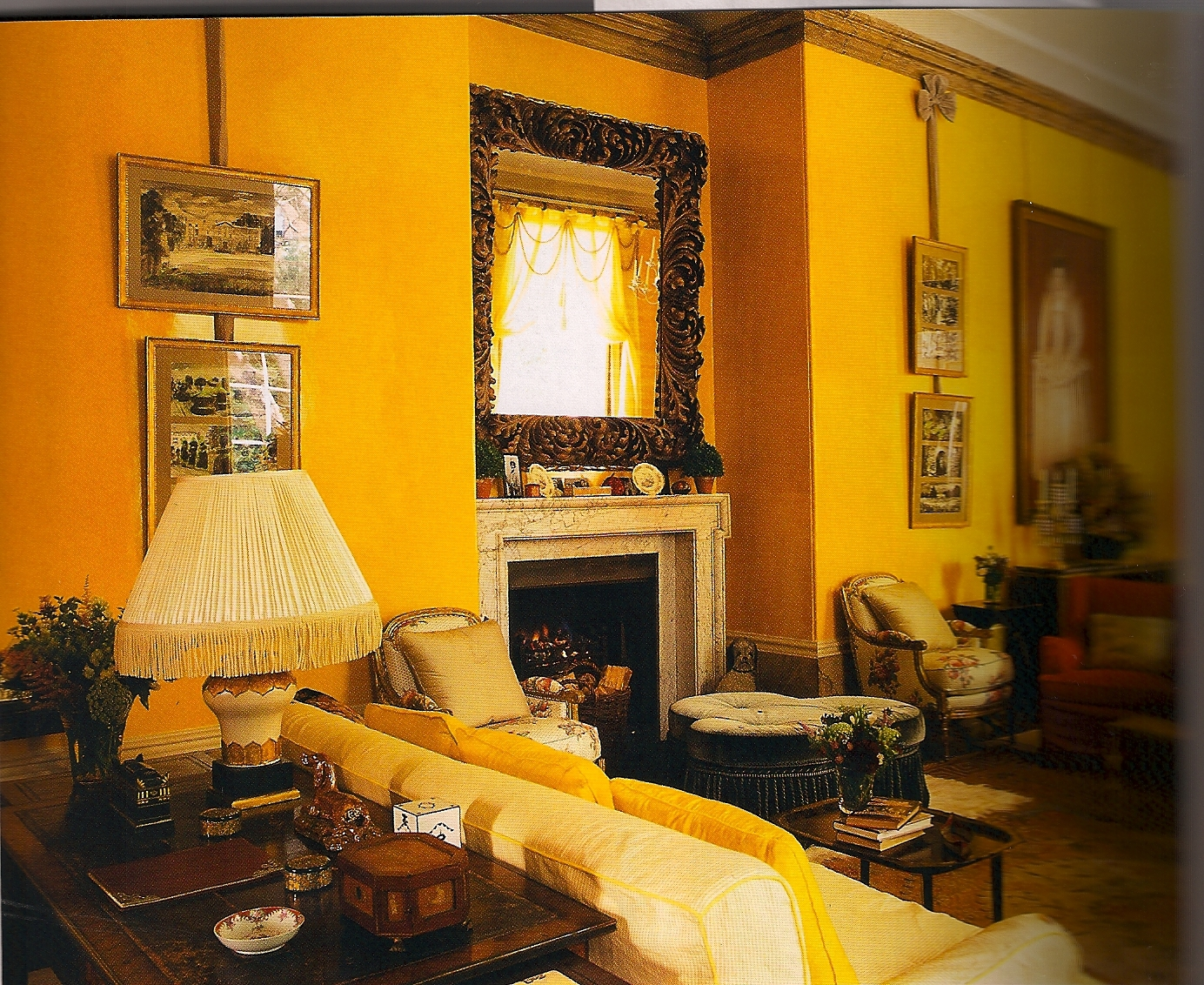 Light color design yellow - Yellow interior house design photos ...