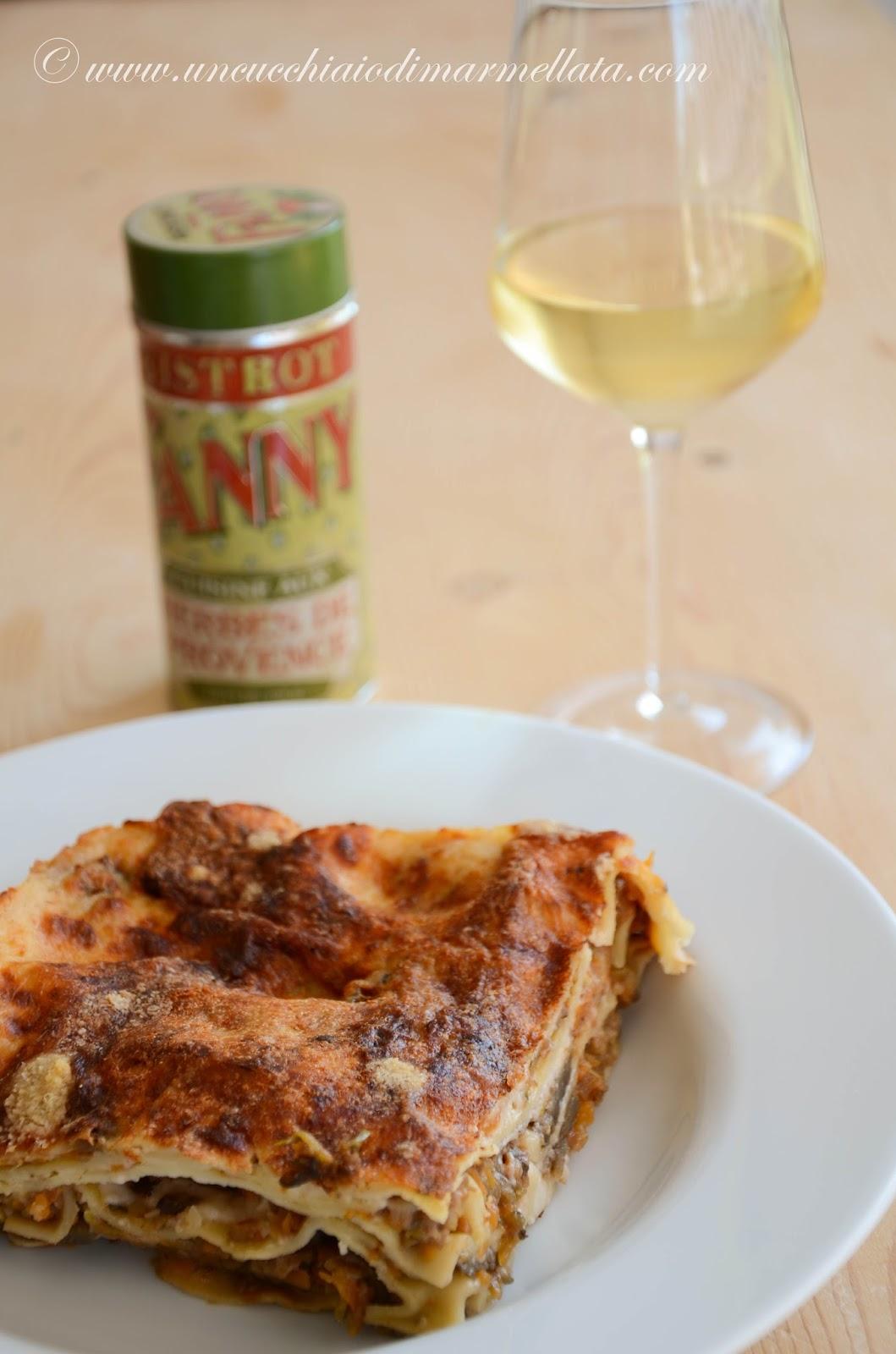 lasagne con verdure alla provenzale