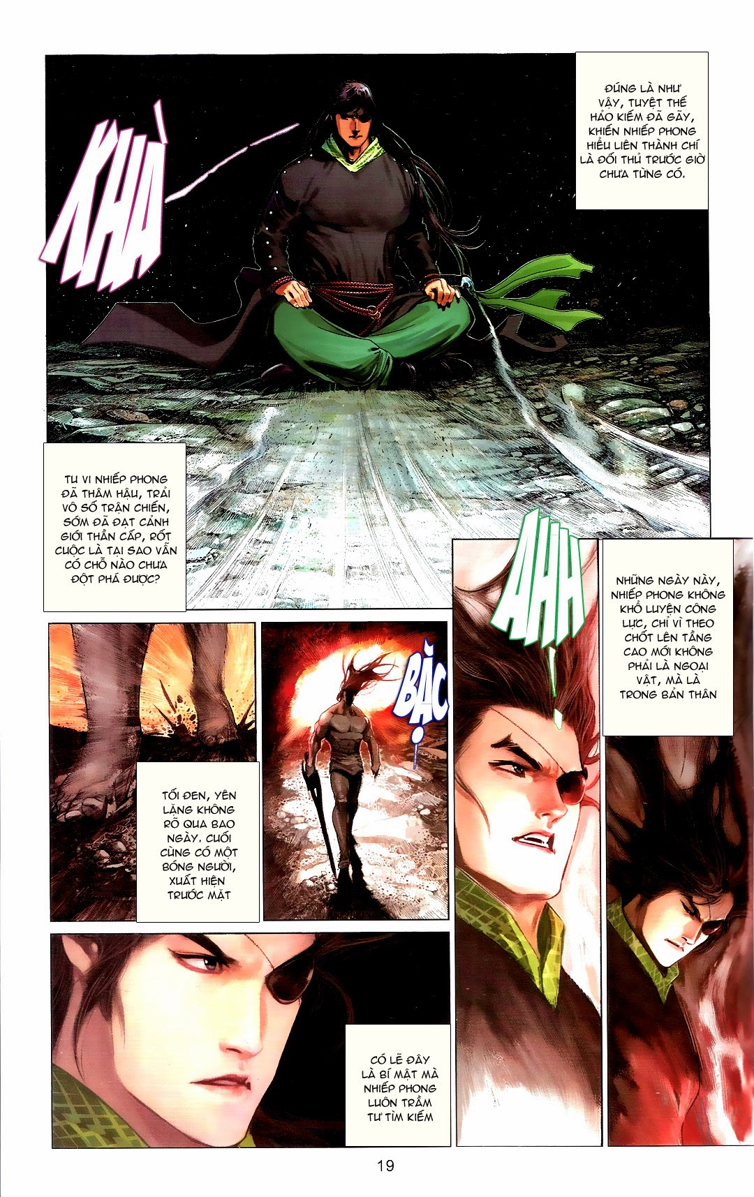Phong Vân chap 666 Trang 19 - Mangak.info