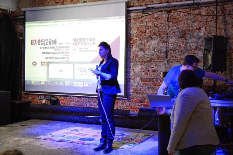 Marketing Meeting, Łódź, spotkanie, event, mBank, Izabela Kwiatkowska