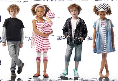 moda infantil de los 80