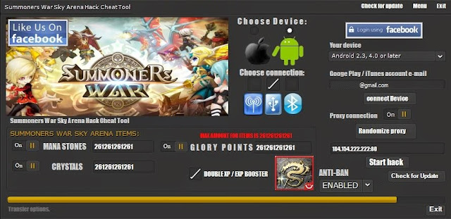 summoners war mod apk unlimited money
