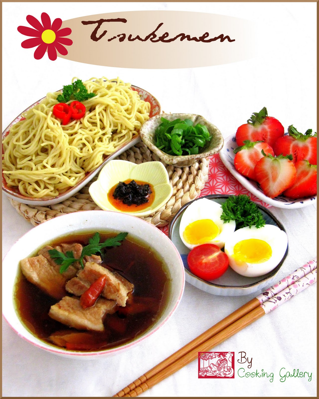 Tsukemen japanese dipping noodles cooking gallery tsukemen japanese dipping noodles forumfinder Image collections