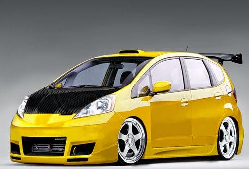 Modifikasi Honda Jazz Fit, Mugen Terbaru