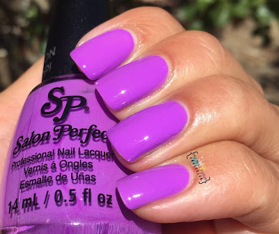 Salon Perfect Purple Pop!