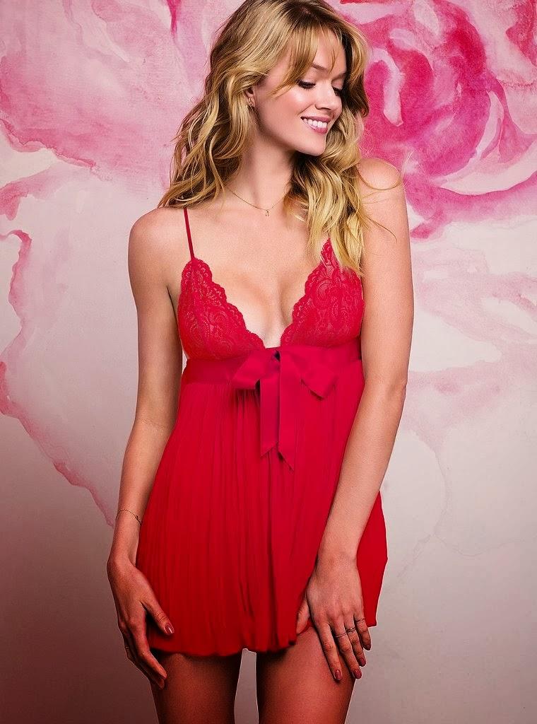 Lingerie Photoshoot : Lindsay Ellingson Photoshoot For Victoria's Secret Magazine January 2014 Issue