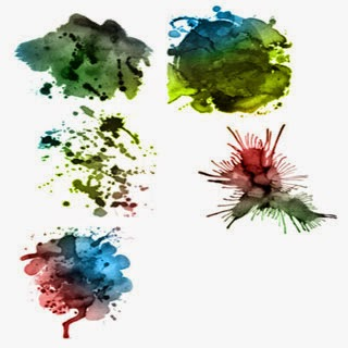 Watercolor Effects Brushes for Ps