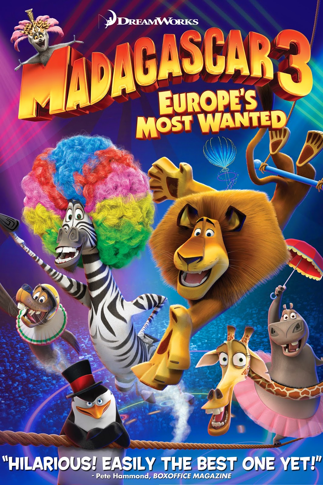 Madagascar 3: Europeu0026#39;s Most Wanted : Animation Movies