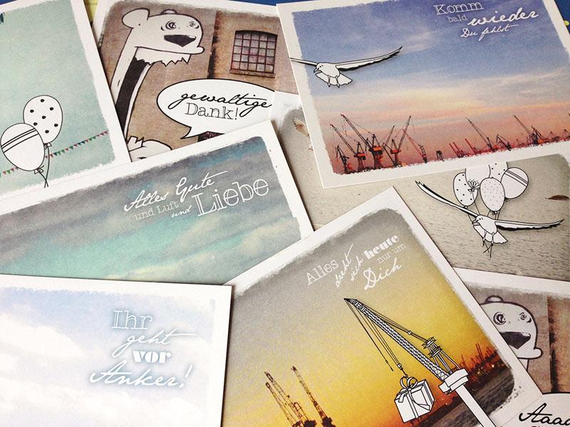 Martina Olonschenk Postkarten