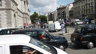 cars, traffic jam