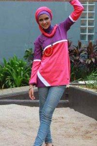 UKHTI Teens UT25 - Pink Fanta (Toko Jilbab dan Busana Muslimah Terbaru)