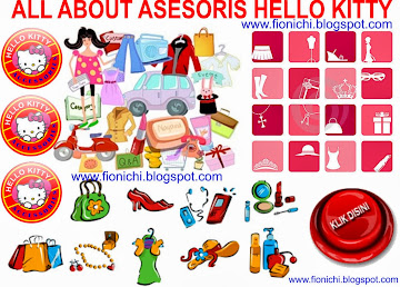 ASESORIS/HOBBY : karakter HELLO KITTY, DLL