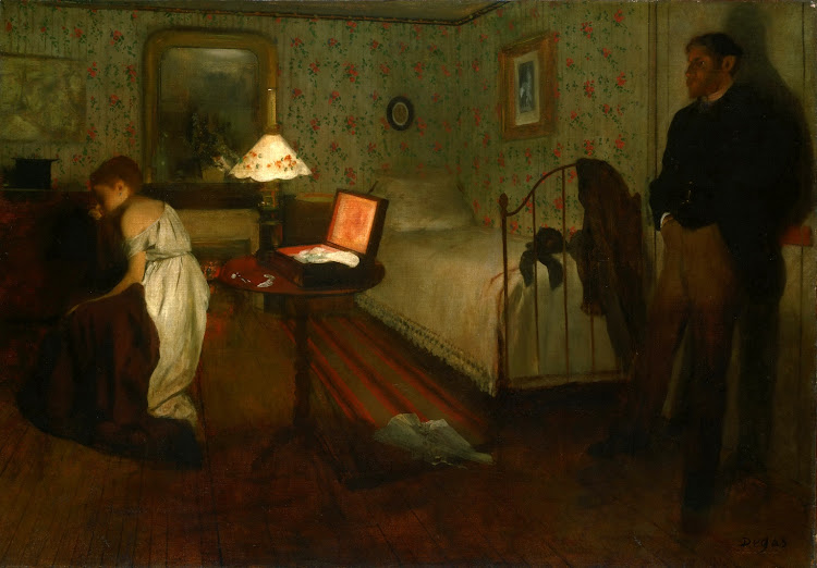 Edgar Degas - Interior (1868)