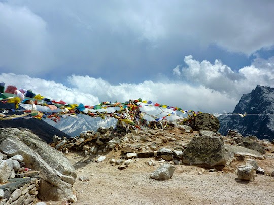 Everest Memorial Place on the Everest Base Camp Trek