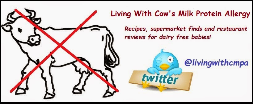 Shop dairy and soya free, living with cow's milk protein allergy