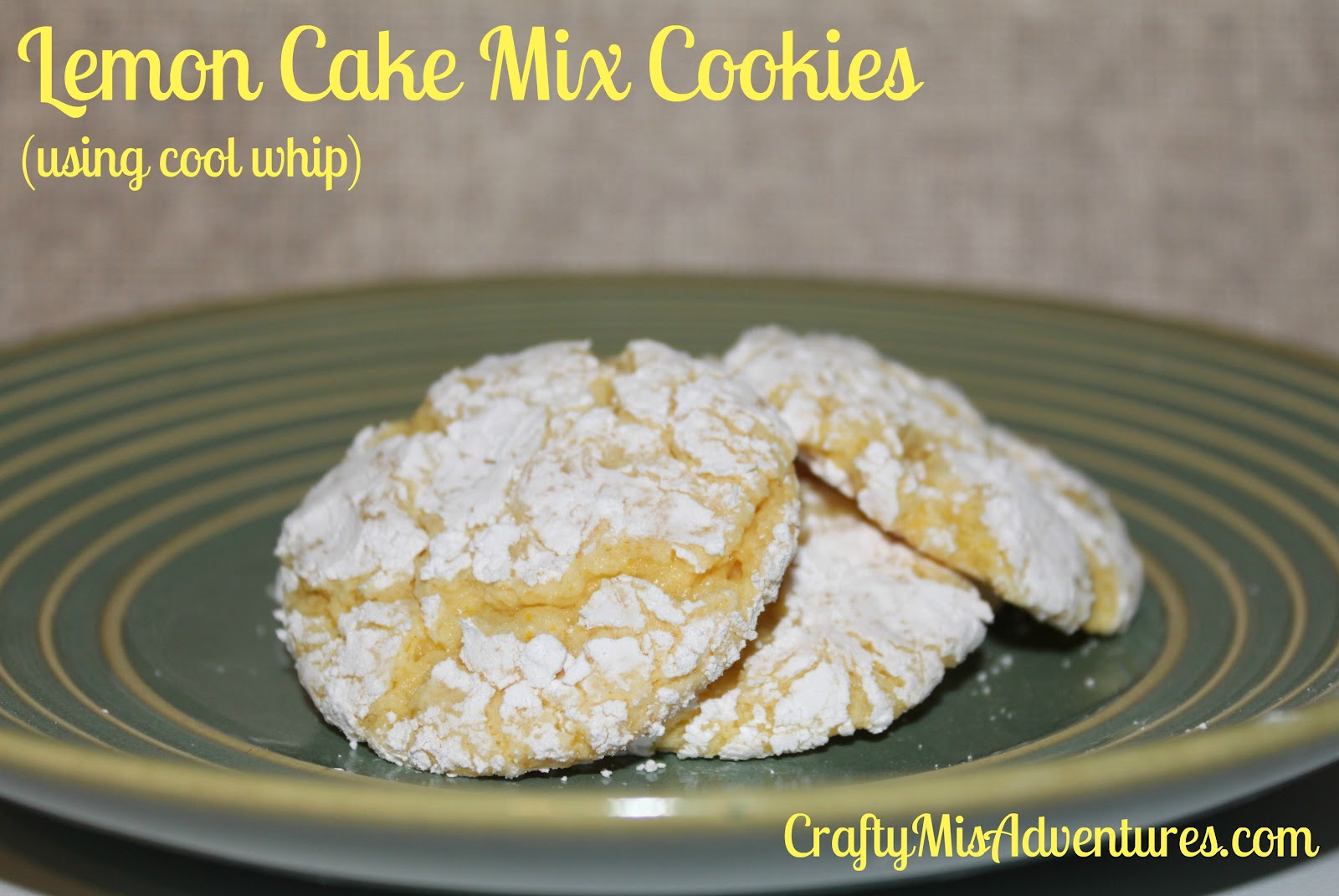 ... on lemon cake mix cookies lemon cake mix cookies using cool whip