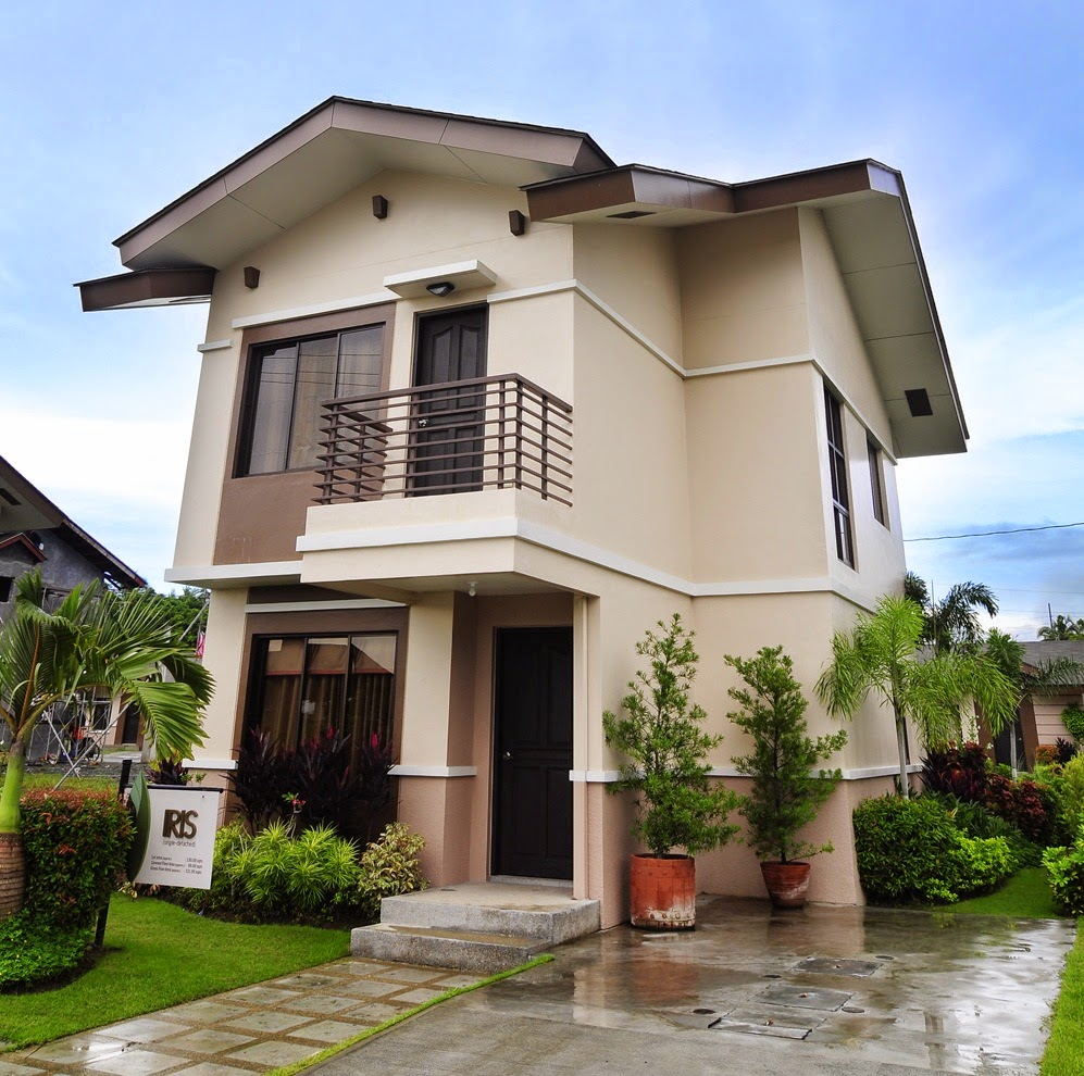 33 beautiful 2 storey house photos for Filipino small house design