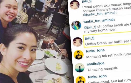Kenangan Gurauan 'Kasar' Anakanda Sultan Johor di Instagram