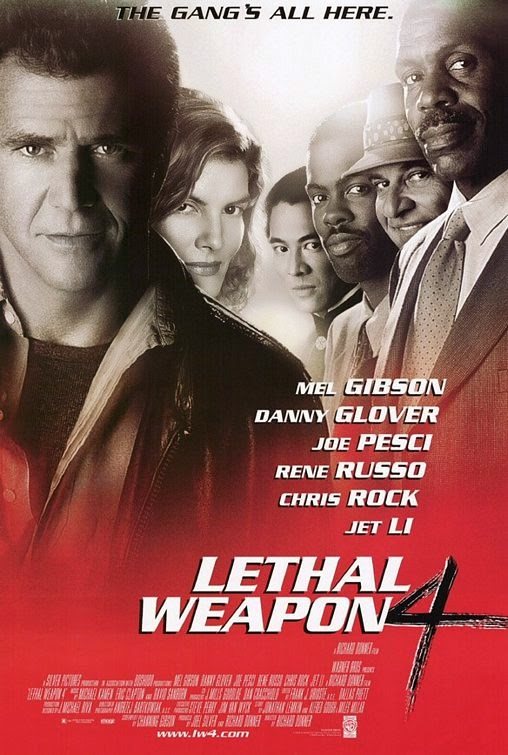 FILM, LETHAL WEAPON, FILM LETHAL WEAPON 4