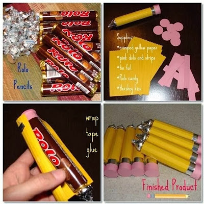 Hidden Pencil Chocolate Gift For Sweet Teacher