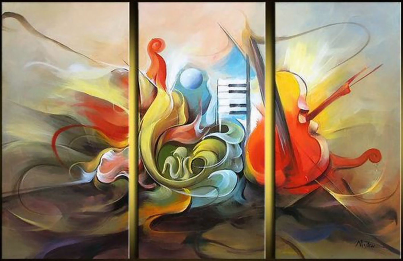 Cuadros modernos pinturas y dibujos pinturas de - Cuadros figurativos modernos ...