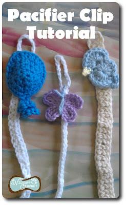 Niccupp Crochet: Pacifier Clip Tutorial