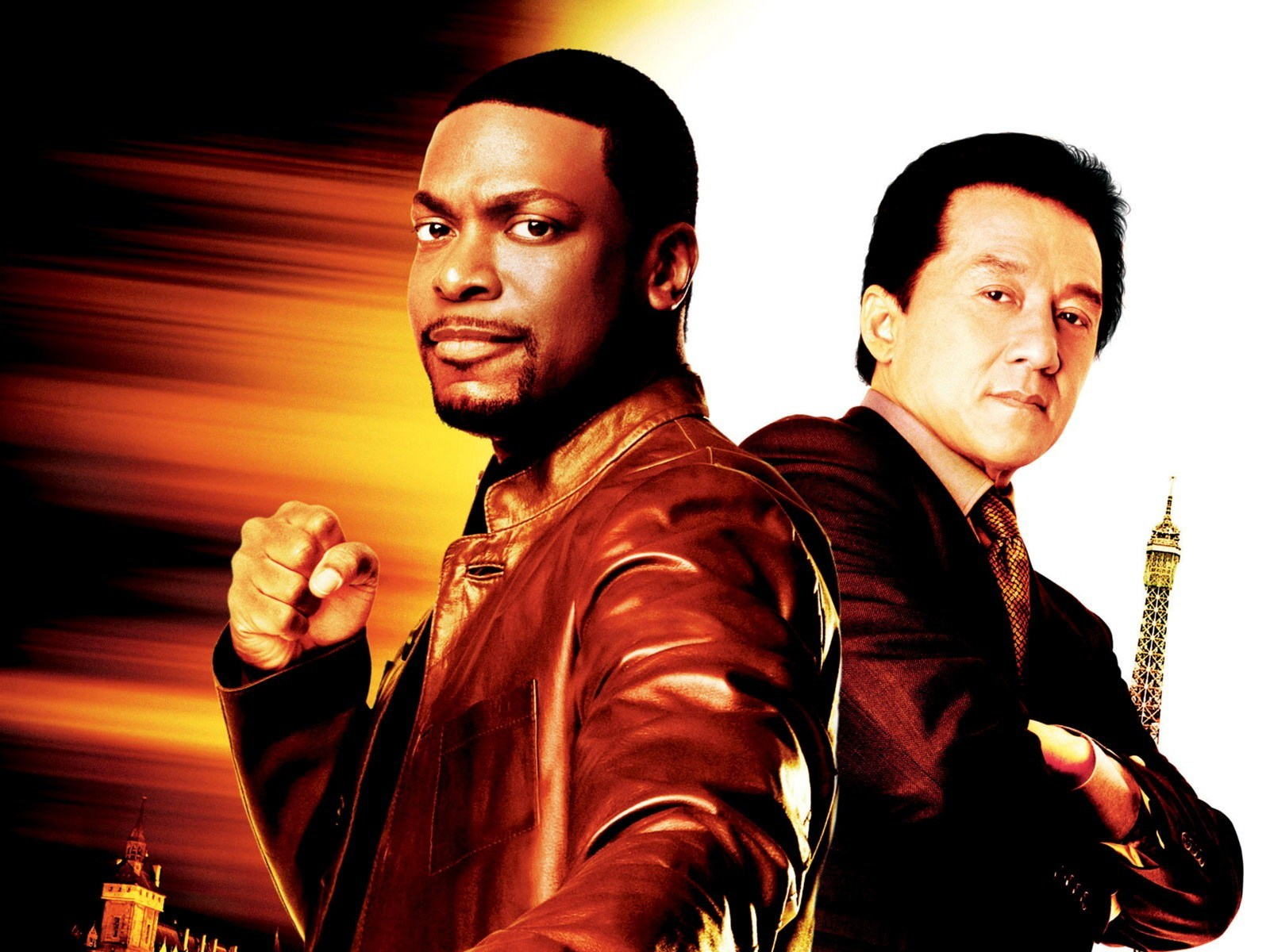 Jackie Chan And Chris Tucker Rush Hour 2 With jackie chan and chris