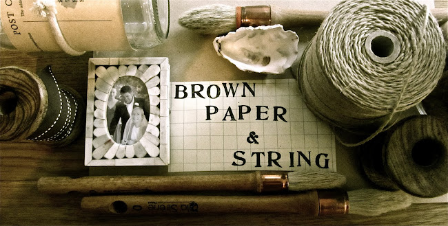 Brown Paper & String