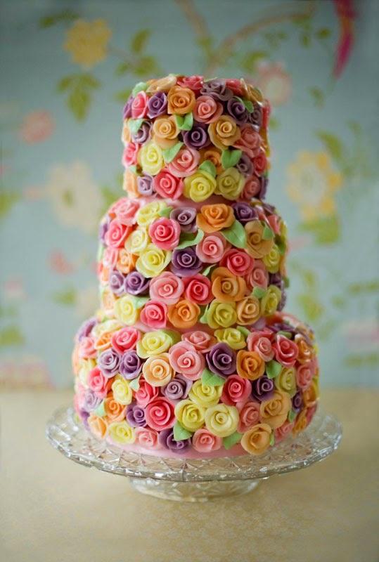 a Spring cake