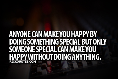 Love Quotes | Some Special Make you Happy