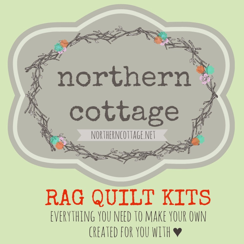 Northern Cottage: HOW TO MAKE A RAG QUILT